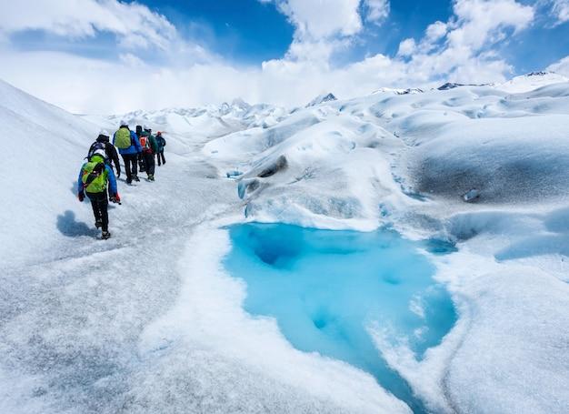 ペリトモレノ氷河を歩く
