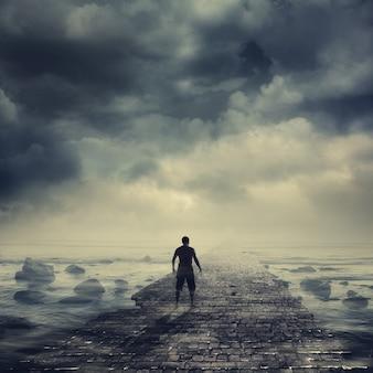 빛을 향해 걷기