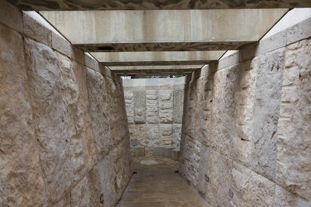 Прогулка к художественному саду, музей израиля, иерусалим, израиль