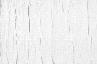 Wall background with crumpled paper