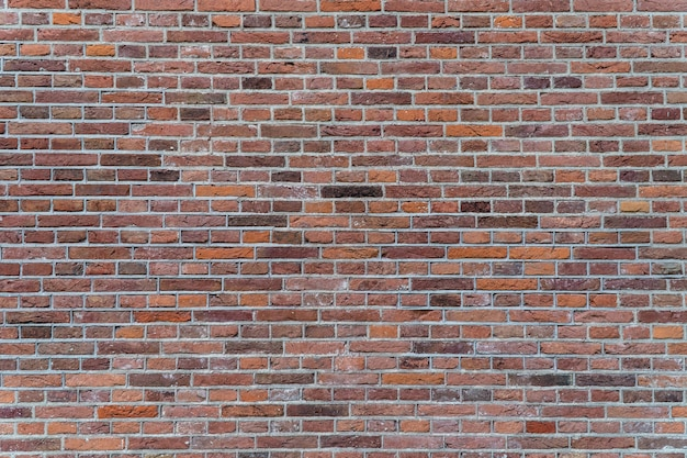 Wall of brick background