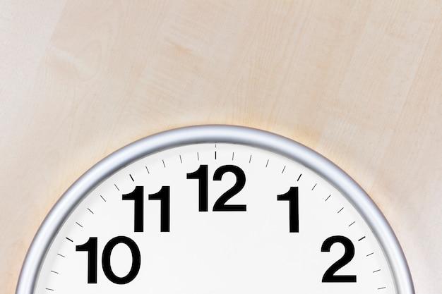 Wall clock detail