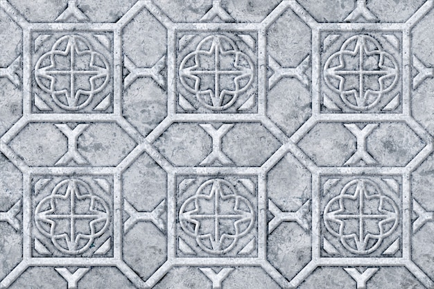Wall decor. stone tiles with a relief pattern. element for design. background texture