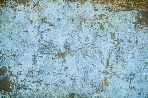摩滅とクラックザックのテクスチャを持つ壁の断片。