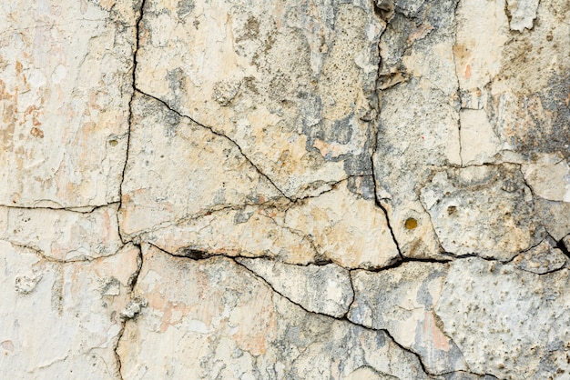 Wall fragment with scratches and cracks background