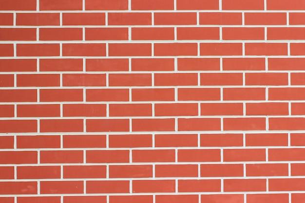 セメントトレースのレンガの壁。閉じる