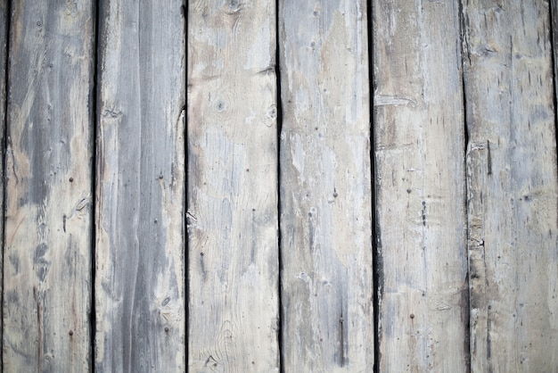 Wall made of vertical wooden planks