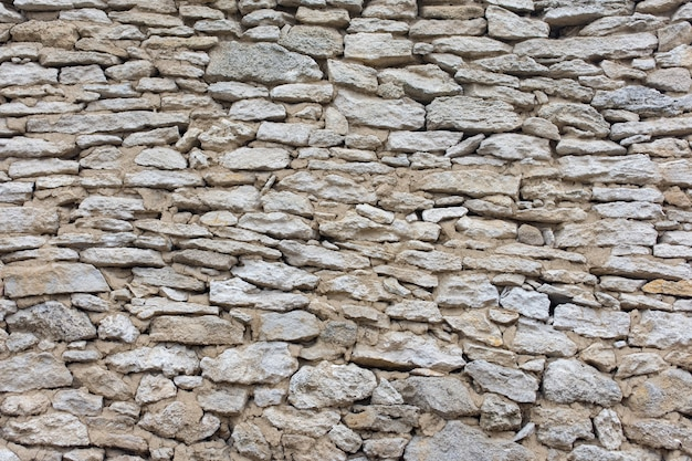 Wall of natural sandstone as texture