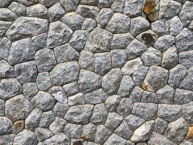 Wall of stone as the background texture