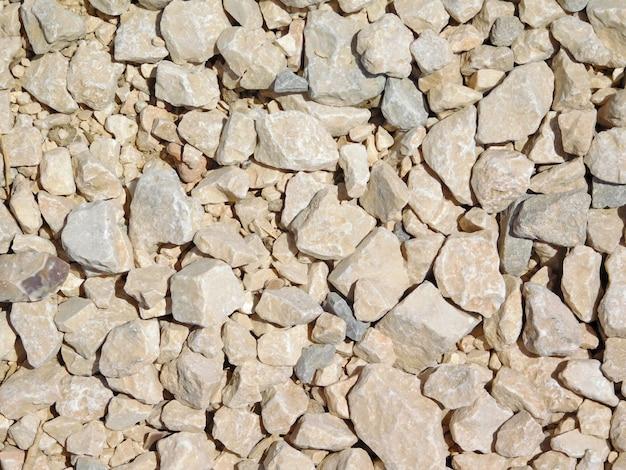壁の石のクローズアップ