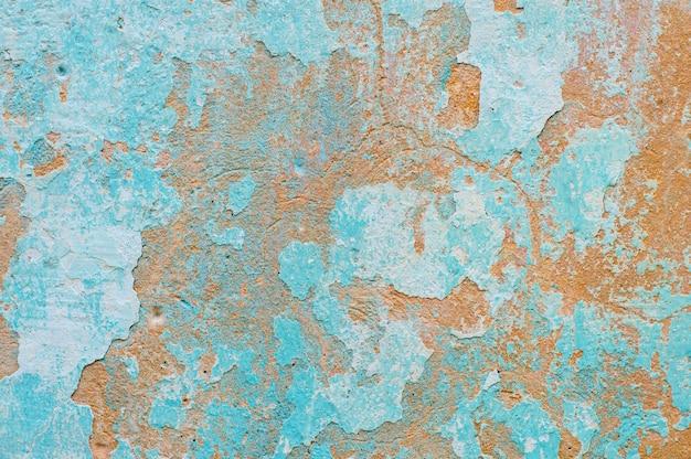 벽 텍스처 페인트 오래 된, 레이어, 각 질 제거, 플레이크, 빈티지, 버려진 질감