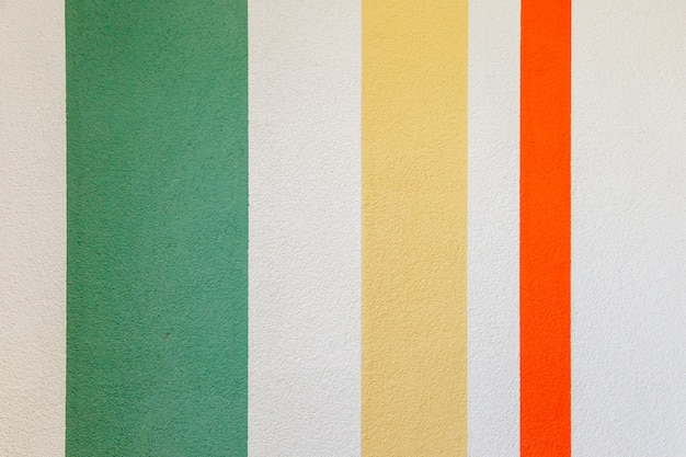 수직선 녹색, 빨간색, 노란색 벽 텍스처