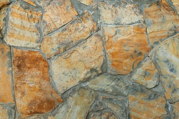 天然石で作られた壁のタイル