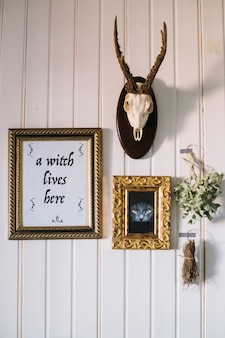 Wall in witch house