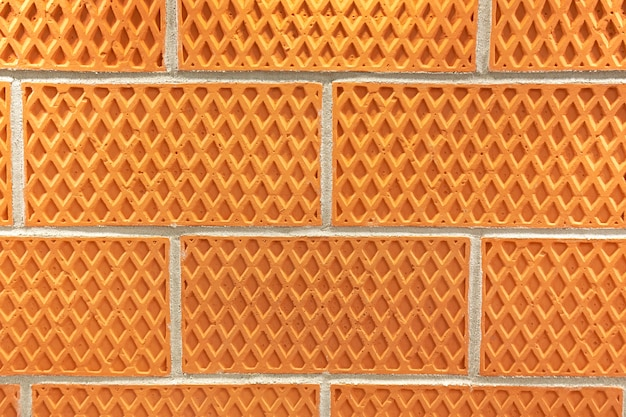 装飾的なレンガの壁
