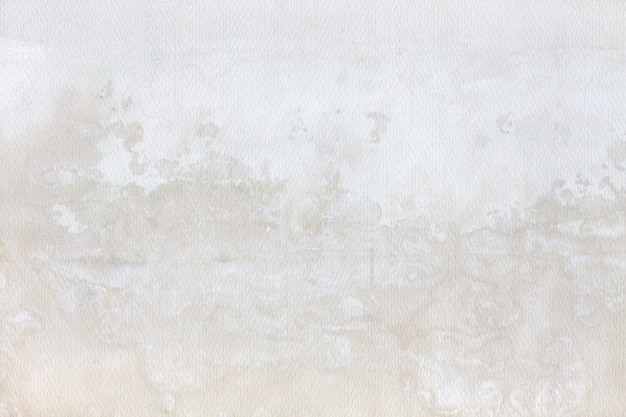 Wall with moisture stains