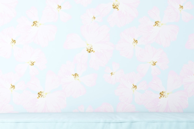 Wallpaper blue flowers background for pictures products bags caps