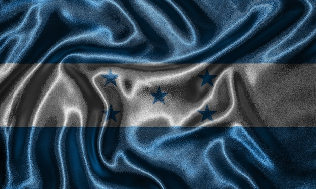 Wallpaper by honduras flag and waving flag by fabric.