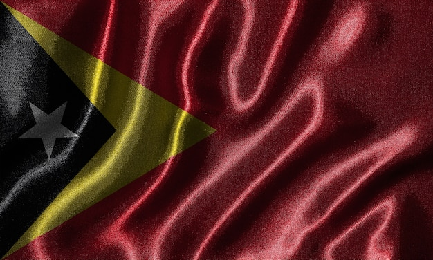 Wallpaper by timor leste flag and waving flag by fabric