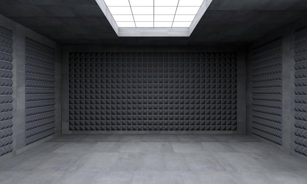 壁紙コンクリート迷路の概念。