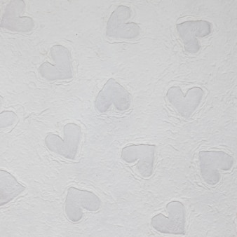 Wallpaper texture with heart shapes