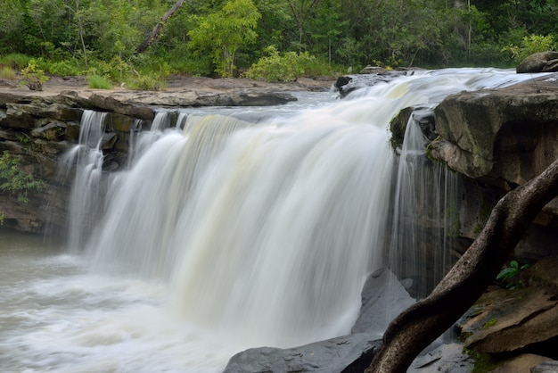 Wangyai waterfall, kantharalak district, sisaket province, thailand
