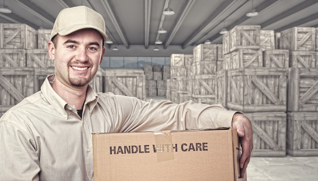 Warehouse and delivery guy