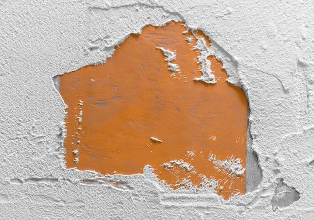 Struttura o fondo della parete vuota di cemento caldo