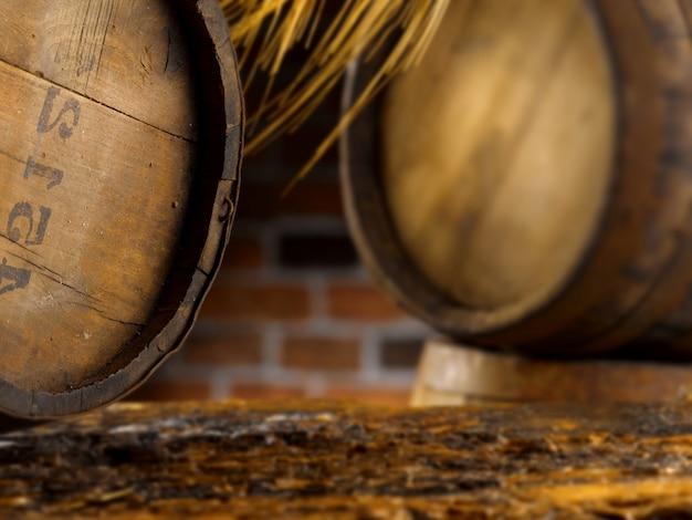 ビールとワインの暖かい環境