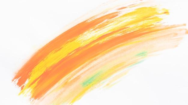 Warm watercolor arc