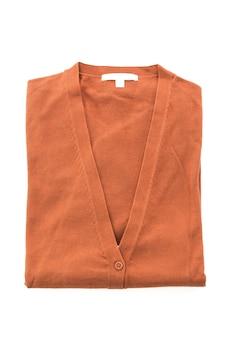 Warm winter fabric texture sweater