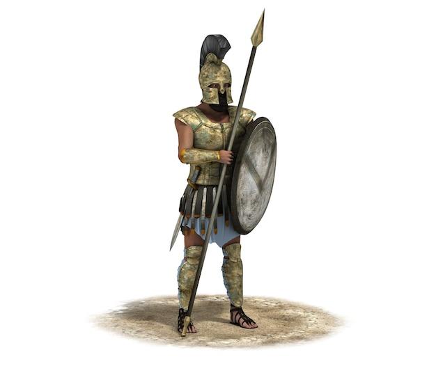 Персонаж воина