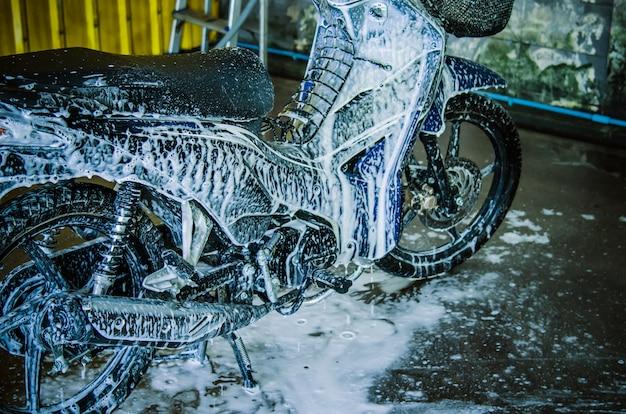 Wash motorcycle