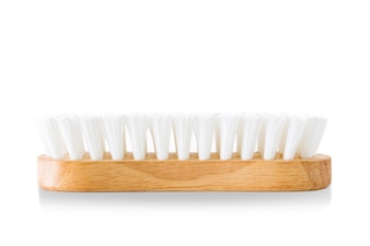 Washing brushes are made of wood.