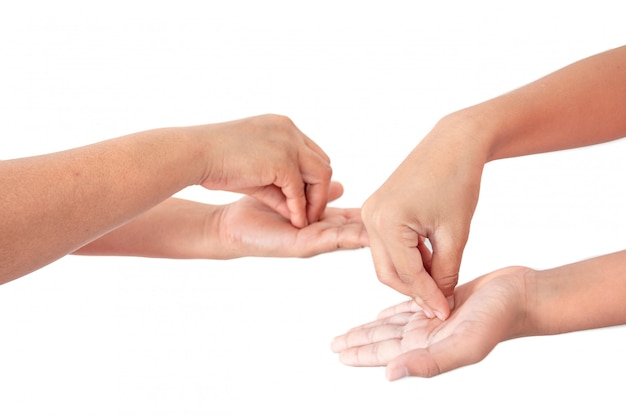 Washing your hand by alcohol sanitizer gel for protecting infection from a covid-19 virus, kill germs, prevent infection.