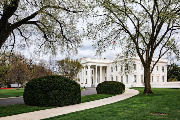 Washington d.c., usa - mar 31, 2016: the white house washington dc, united states