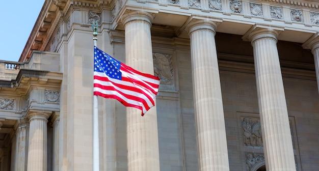 アメリカとのワシントンdcの記念碑。