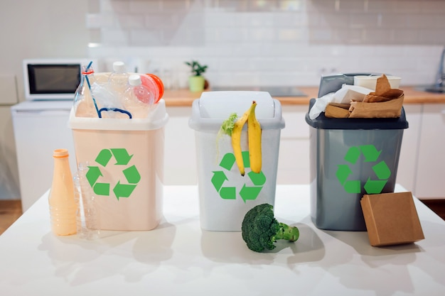 Waste sorting at home