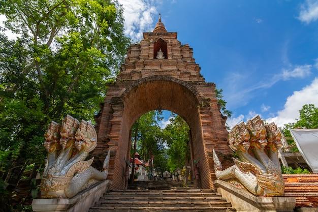 Wat analayo thipphayaram or analayo temple is on doi busarakam, phayao province , thailand