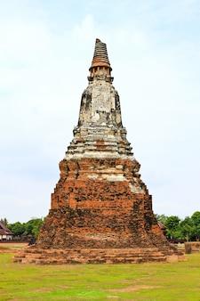 와트 chaiwatthanaram 사원. 아유타야 역사 공원, 태국.