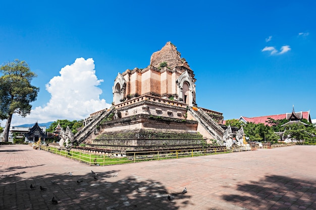 왓 체디 루앙(wat chedi luang)은 태국 치앙마이의 역사적 중심지에 있는 불교 사원입니다.
