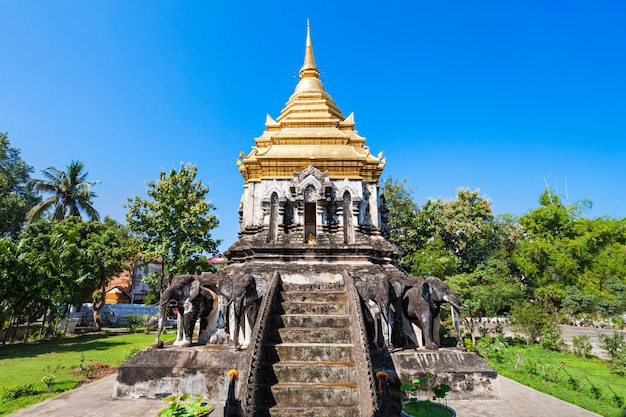 Wat chiang man temple in chiang mai in thailand
