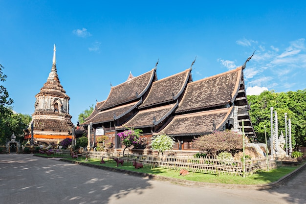 Wat lok molee temple in chiang mai in thailand