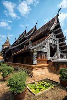 Wat lok moli is a buddhist temple in chiang mai, northern thailand.