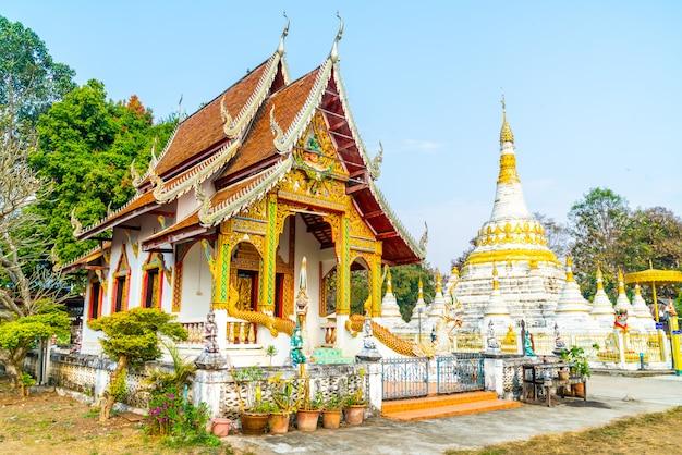 Wat luang at pai in mae hong son, thailand