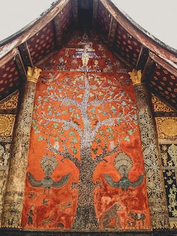 Wat  luang prabang ,laos