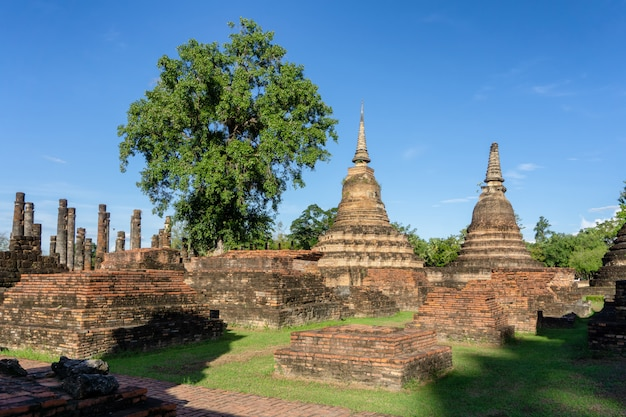 Wat mahathat temple in the precinct of sukhothai historical park
