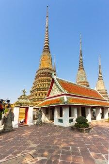 タイ、バンコクのワットポー寺院。