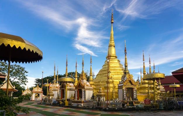 Wat phra borommathat, ban tak district, tak province, thailand.