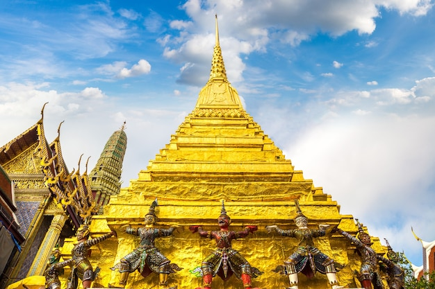 タイ、バンコクのワットプラケオ